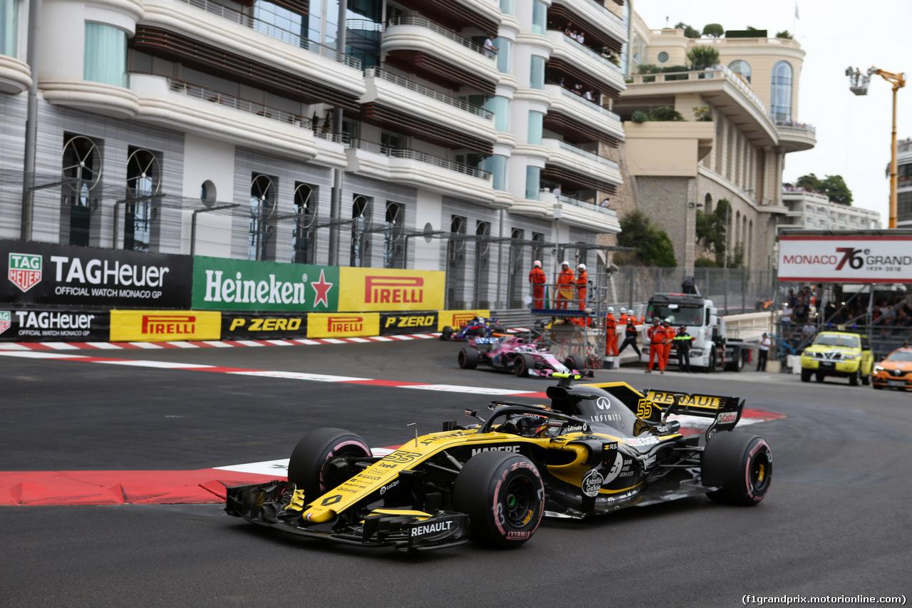 GP MONACO, 27.05.2018 - Gara, Carlos Sainz Jr (ESP) Renault Sport F1 Team RS18
