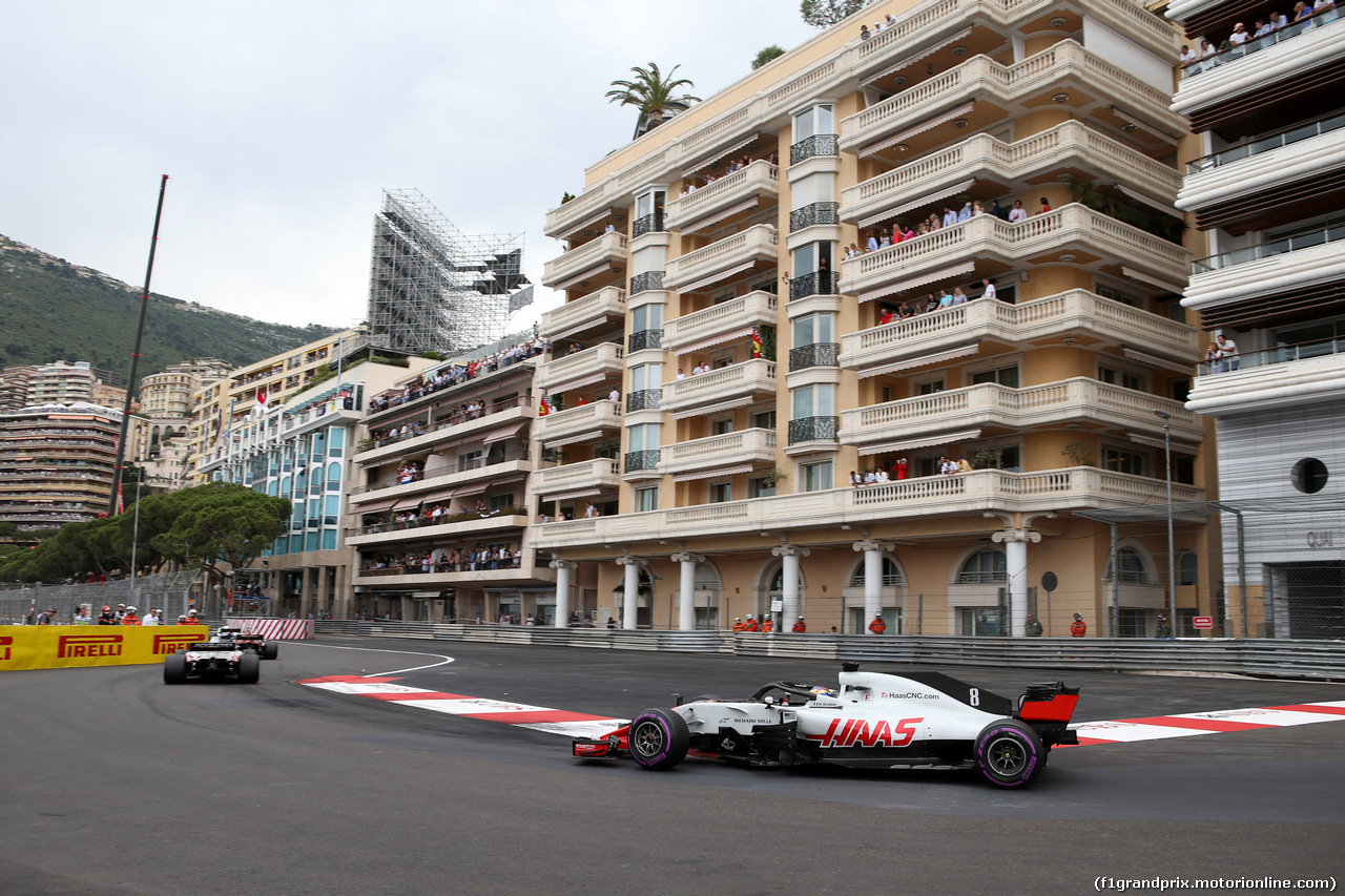 GP MONACO, 27.05.2018 - Gara, Romain Grosjean (FRA) Haas F1 Team VF-18