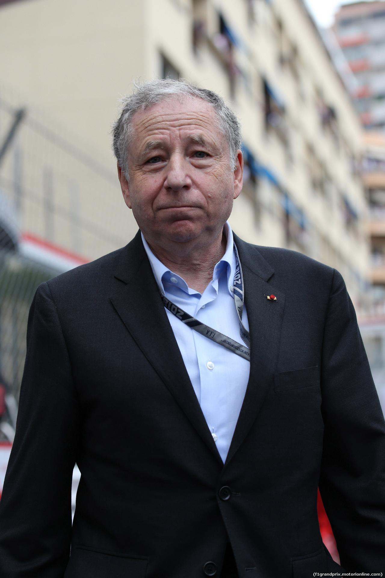 GP MONACO, 27.05.2018 - Gara, Jean Todt (FRA), President FIA