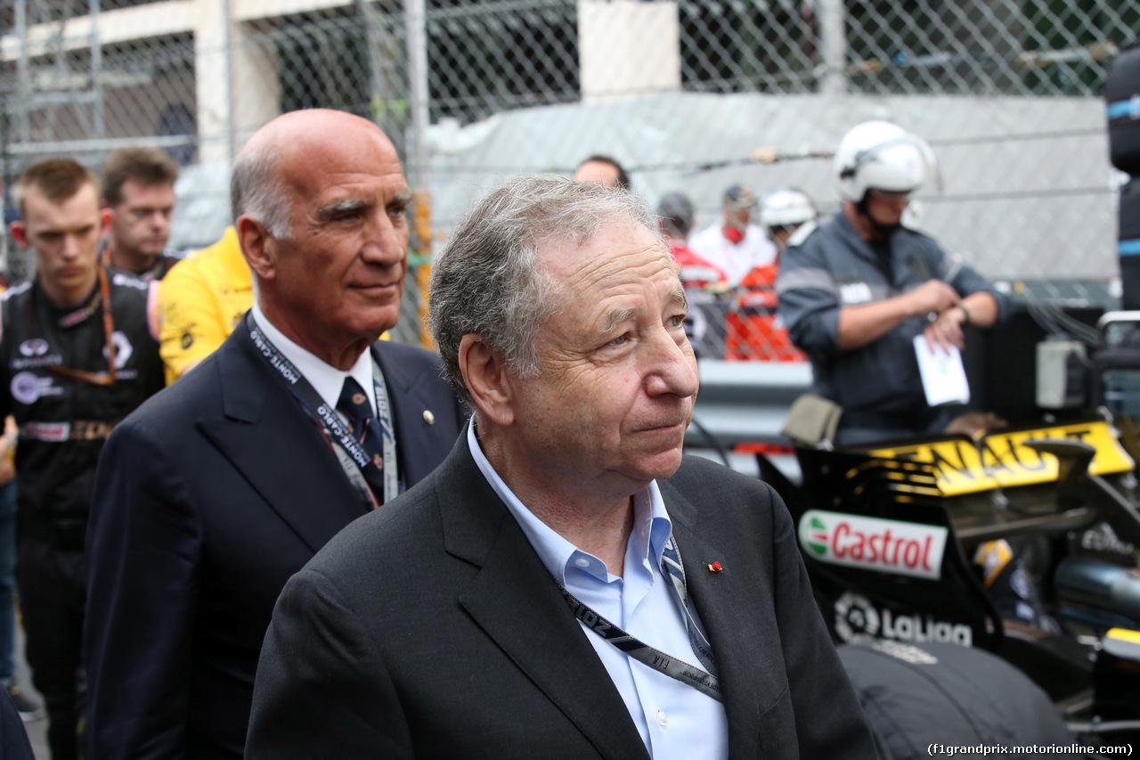 GP MONACO, 27.05.2018 - Gara, Jean Todt (FRA), President FIA e Dr. Angelo Sticchi Damiani (ITA) Aci Csai President