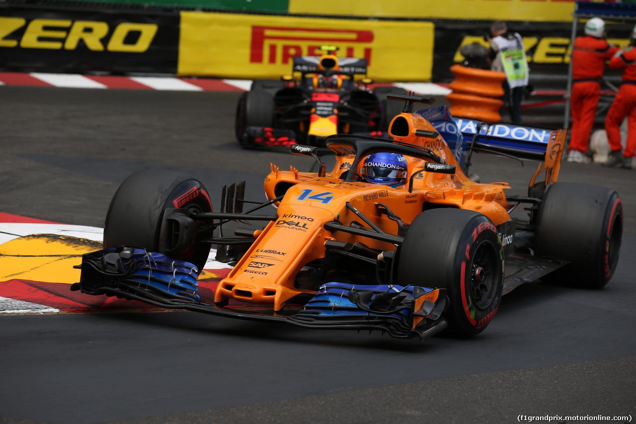 GP MONACO, 27.05.2018 - Gara, Fernando Alonso (ESP) McLaren MCL33