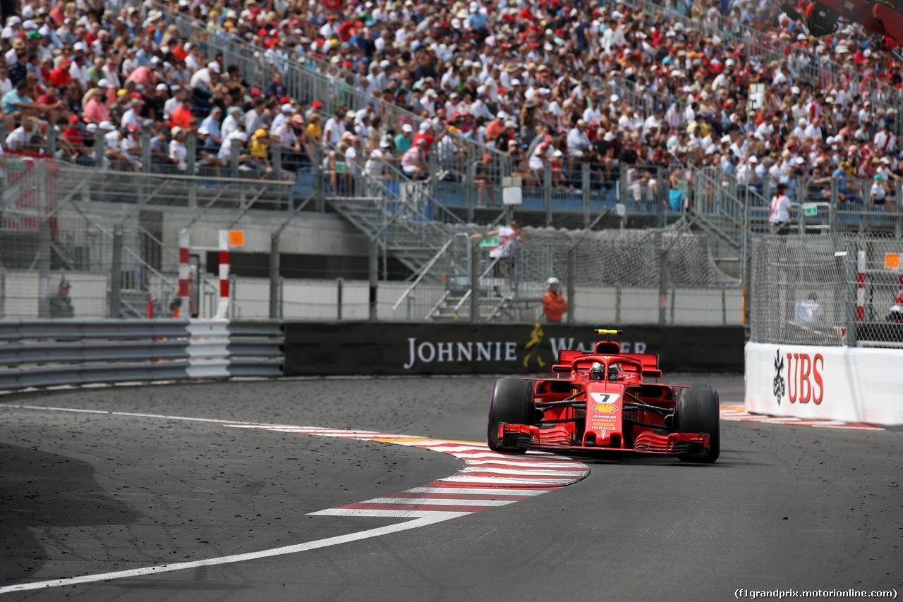 GP MONACO, 27.05.2018 - Gara, Kimi Raikkonen (FIN) Ferrari SF71H