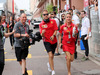 GP MONACO, 27.05.2018 - Sebastian Vettel (GER) Ferrari SF71H e Britta Roeske (AUT) Ferrari Press Officer