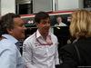 GP MONACO, 27.05.2018 - Gara, Alejandro Agag (ESP) CEO Formula E e Toto Wolff (GER) Mercedes AMG F1 Shareholder e Executive Director