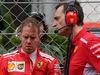 GP MONACO, 27.05.2018 - Gara, Sebastian Vettel (GER) Ferrari SF71H e Riccardo Adami (ITA) Ferrari Gara Engineer