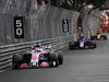 GP MONACO, 27.05.2018 - Gara, Sergio Perez (MEX) Sahara Force India F1 VJM011