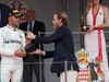 GP MONACO, 27.05.2018 - Gara, 3rd place Lewis Hamilton (GBR) Mercedes AMG F1 W09 with Pierre Casiraghi