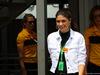 GP MONACO, 24.05.2018 - Free Practice 1, Linda Morselli (ITA) Ragazzafriend of Fernando Alonso (ESP)