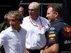 GP MONACO, 26.05.2018 - Free Practice 3, Alain Prost (FRA) Renault Sport F1 Team Special Advisor, Helmut Marko (AUT), Red Bull Racing, Red Bull Advisor e Christian Horner (GBR), Red Bull Racing, Sporting Director