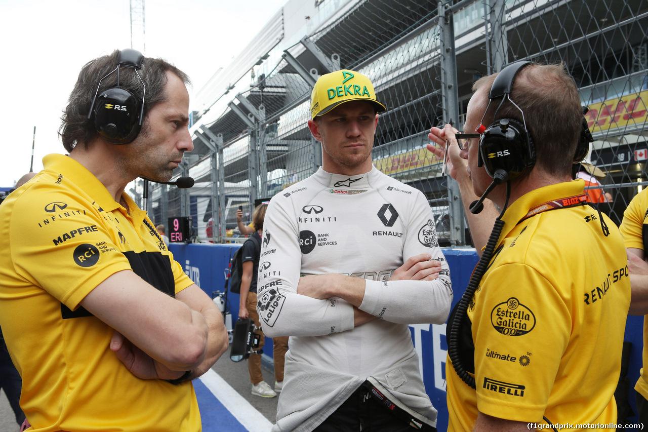 GP RUSSIA, 30.09.2018 - Gara, Nico Hulkenberg (GER) Renault Sport F1 Team RS18
