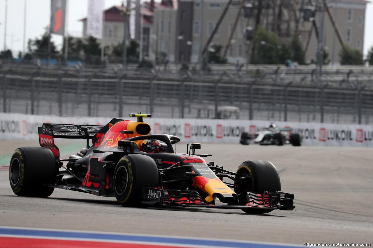GP RUSSIA, 30.09.2018 - Gara, Max Verstappen (NED) Red Bull Racing RB14