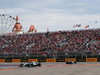 GP RUSSIA, 30.09.2018 - Gara, Valtteri Bottas (FIN) Mercedes AMG F1 W09 davanti a Lewis Hamilton (GBR) Mercedes AMG F1 W09
