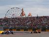 GP RUSSIA, 30.09.2018 - Gara, Pierre Gasly (FRA) Scuderia Toro Rosso STR13 e Daniel Ricciardo (AUS) Red Bull Racing RB14