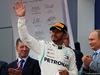 GP RUSSIA, 30.09.2018 - Gara, Dmitry Kozak (RUS) Russian Deputy Prime Minister, Lewis Hamilton (GBR) Mercedes AMG F1 W09 vincitore e Vladimir Putin (RUS) Russian President.