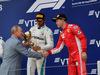 GP RUSSIA, 30.09.2018 - Gara, 3rd place Sebastian Vettel (GER) Ferrari SF71H with Vladimir Putin (RUS) Russian President.
