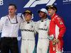 GP RUSSIA, 30.09.2018 - Gara, James Allison (GBR) Mercedes AMG F1, Technical Director, 2nd place Valtteri Bottas (FIN) Mercedes AMG F1 W09, Lewis Hamilton (GBR) Mercedes AMG F1 W09 vincitore e 3rd place Sebastian Vettel (GER) Ferrari SF71H