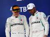 GP RUSSIA, 30.09.2018 - Gara, 2nd place Valtteri Bottas (FIN) Mercedes AMG F1 W09 e Lewis Hamilton (GBR) Mercedes AMG F1 W09 vincitore