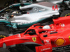 GP RUSSIA, 30.09.2018 - Gara, 3rd place Sebastian Vettel (GER) Ferrari SF71H e Lewis Hamilton (GBR) Mercedes AMG F1 W09 vincitore