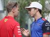 GP RUSSIA, 27.09.2018 - Sebastian Vettel (GER) Ferrari SF71H e Pierre Gasly (FRA) Scuderia Toro Rosso STR13