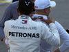 GP RUSSIA, 29.09.2018 - Qualifiche, 2nd place Lewis Hamilton (GBR) Mercedes AMG F1 W09  e Valtteri Bottas (FIN) Mercedes AMG F1 W09 pole position