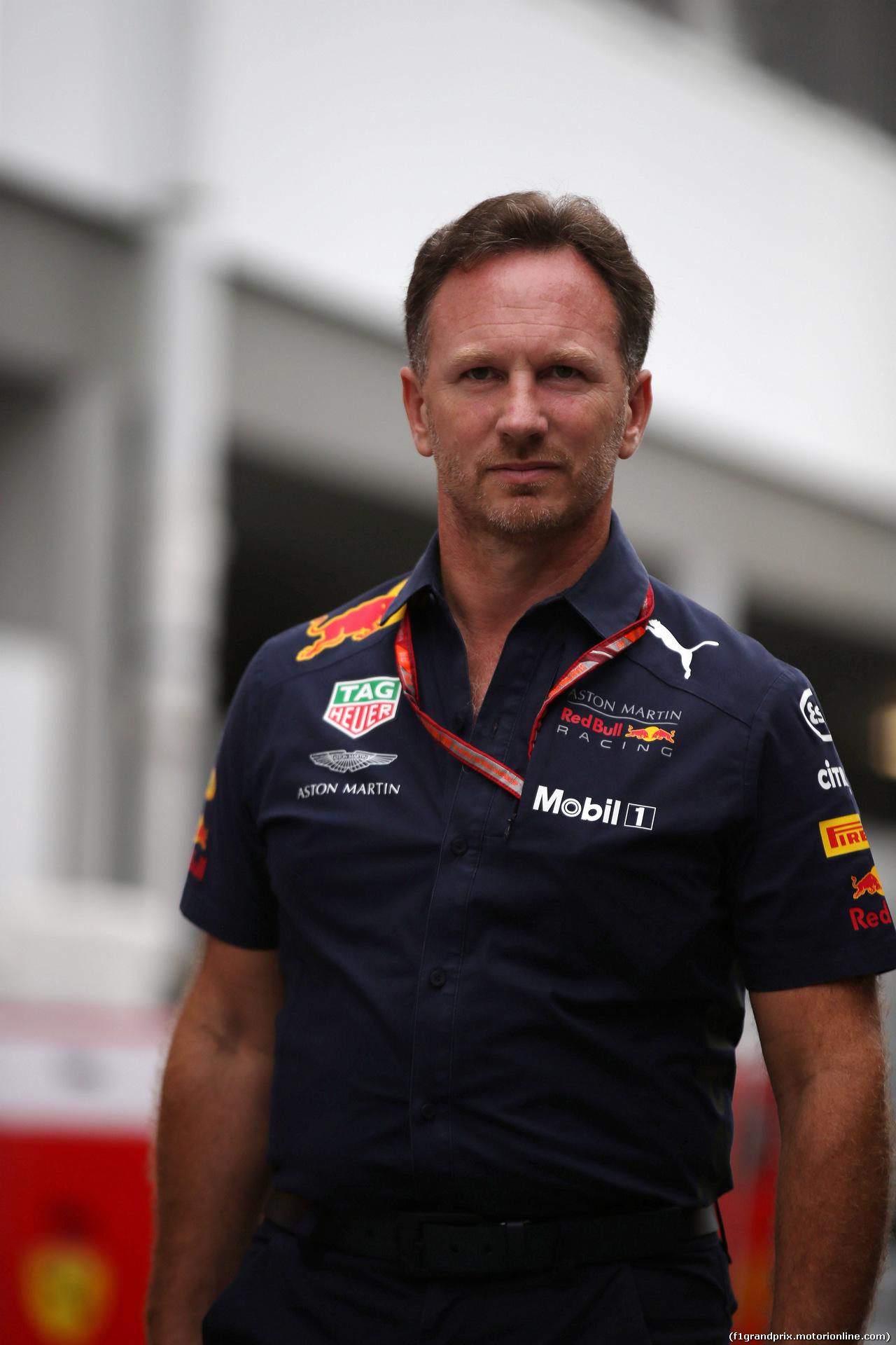 GP SINGAPORE, 16.09.2018 - Christian Horner (GBR), Red Bull Racing, Sporting Director