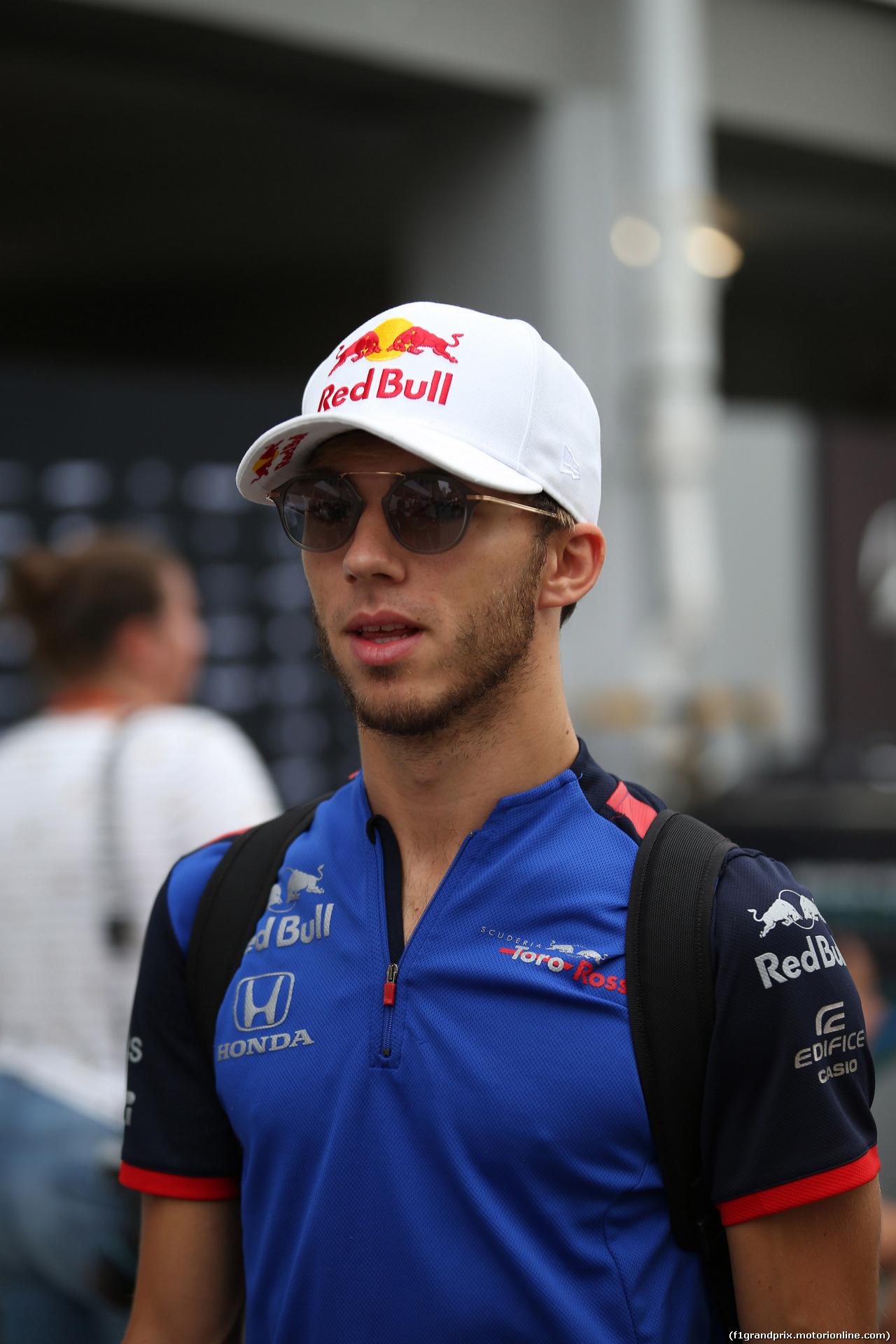 GP SINGAPORE, 16.09.2018 - Pierre Gasly (FRA) Scuderia Toro Rosso STR13