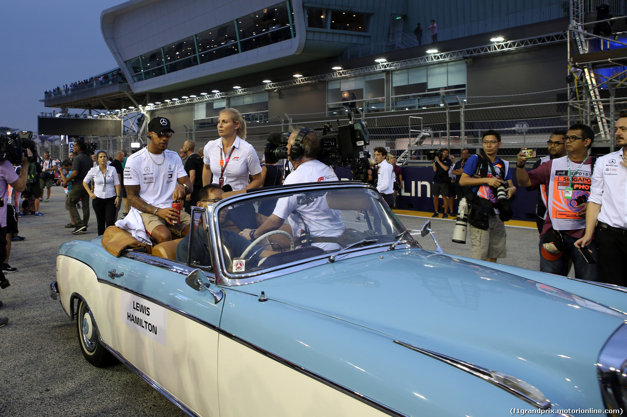 GP SINGAPORE, 16.09.2018 - Lewis Hamilton (GBR) Mercedes AMG F1 W09