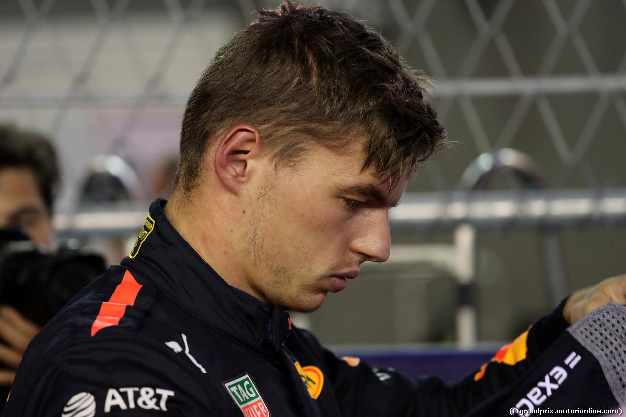 GP SINGAPORE, 16.09.2018 - Gara, Max Verstappen (NED) Red Bull Racing RB14