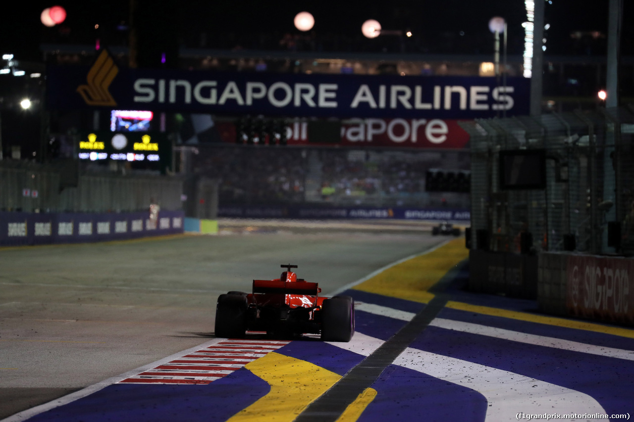 GP SINGAPORE - Gara