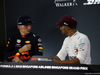 GP SINGAPORE, 15.09.2018 - Qualifiche, Conferenza Stampa, Max Verstappen (NED) Red Bull Racing RB14 e Lewis Hamilton (GBR) Mercedes AMG F1 W09