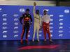 GP SINGAPORE, 15.09.2018 - Qualifiche, 2nd place Max Verstappen (NED) Red Bull Racing RB14, Lewis Hamilton (GBR) Mercedes AMG F1 W09 pole position e 3rd place Sebastian Vettel (GER) Ferrari SF71H