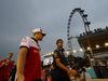 GP SINGAPORE, 16.09.2018 - Sebastian Vettel (GER) Ferrari SF71H, Marcus Ericsson (SUE) Sauber C37 e Daniel Ricciardo (AUS) Red Bull Racing RB14