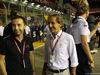 GP SINGAPORE, 16.09.2018 - Gara, Nicola Todt (FRA) e Alain Prost (FRA) Renault Sport F1 Team Special Advisor