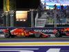 GP SINGAPORE, 16.09.2018 - Gara, Sebastian Vettel (GER) Ferrari SF71H e Max Verstappen (NED) Red Bull Racing RB14