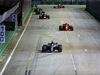GP SINGAPORE, 16.09.2018 - Gara, Lewis Hamilton (GBR) Mercedes AMG F1 W09 davanti a Sebastian Vettel (GER) Ferrari SF71H