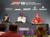 GP SINGAPORE, 16.09.2018 - Gara, Conferenza Stampa, Max Verstappen (NED) Red Bull Racing RB14, Lewis Hamilton (GBR) Mercedes AMG F1 W09 e Sebastian Vettel (GER) Ferrari SF71H