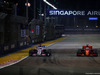 GP SINGAPORE, 16.09.2018 - Gara, Sergio Perez (MEX) Racing Point Force India F1 VJM11 e Sebastian Vettel (GER) Ferrari SF71H