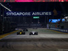 GP SINGAPORE, 16.09.2018 - Gara, Nico Hulkenberg (GER) Renault Sport F1 Team RS18 e Sergey Sirotkin (RUS) Williams FW41
