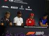 GP SINGAPORE, 13.09.2018 - Conferenza Stampa, Kevin Magnussen (DEN) Haas F1 Team VF-18, Lewis Hamilton (GBR) Mercedes AMG F1 W09, Kimi Raikkonen (FIN) Ferrari SF71H e Brendon Hartley (NZL) Scuderia Toro Rosso STR13