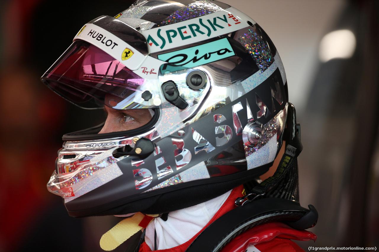 GP SINGAPORE, 14.09.2018 - Prove Libere 1, Sebastian Vettel (GER) Ferrari SF71H
