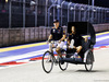 GP SINGAPORE, Max Verstappen (NLD) Red Bull Racing rides the circuit with team mate Daniel Ricciardo (AUS) Red Bull Racing. 13.09.2018.