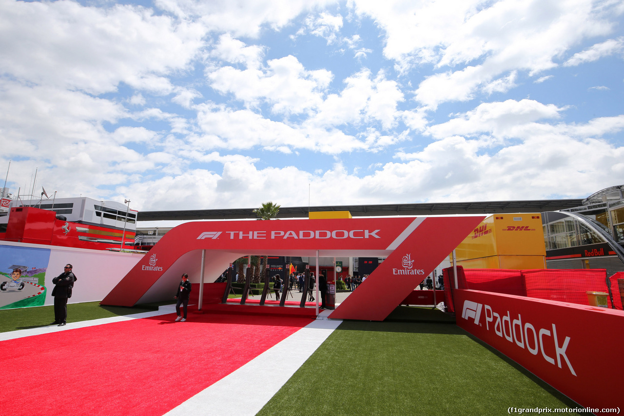 GP SPAGNA, 13.05.2018 - The paddock