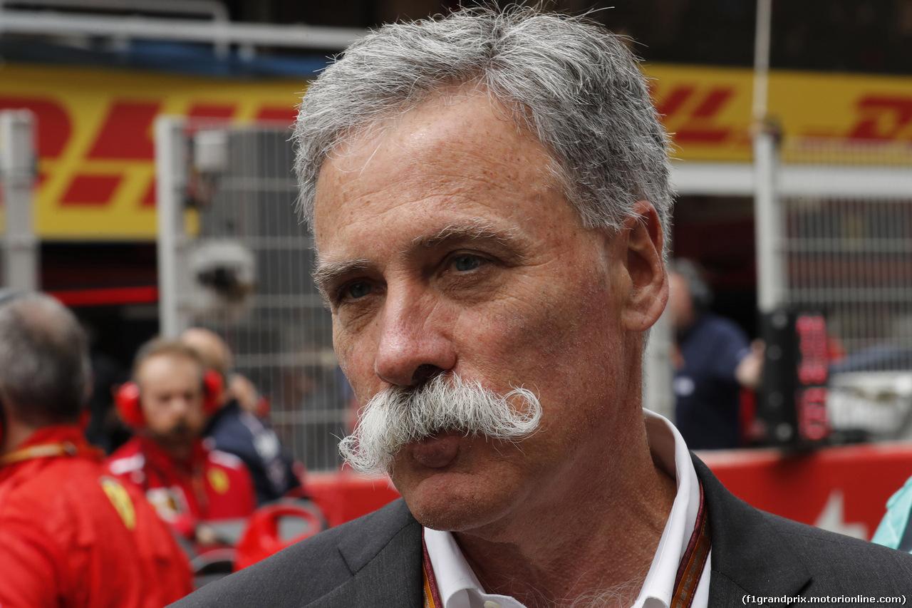 GP SPAGNA, 13.05.2018 - Gara, Chase Carey (USA) Formula One Group Chairman