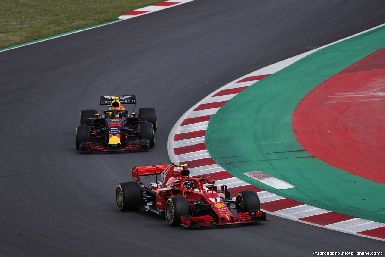 GP SPAGNA, 13.05.2018 - Gara, Kimi Raikkonen (FIN) Ferrari SF71H