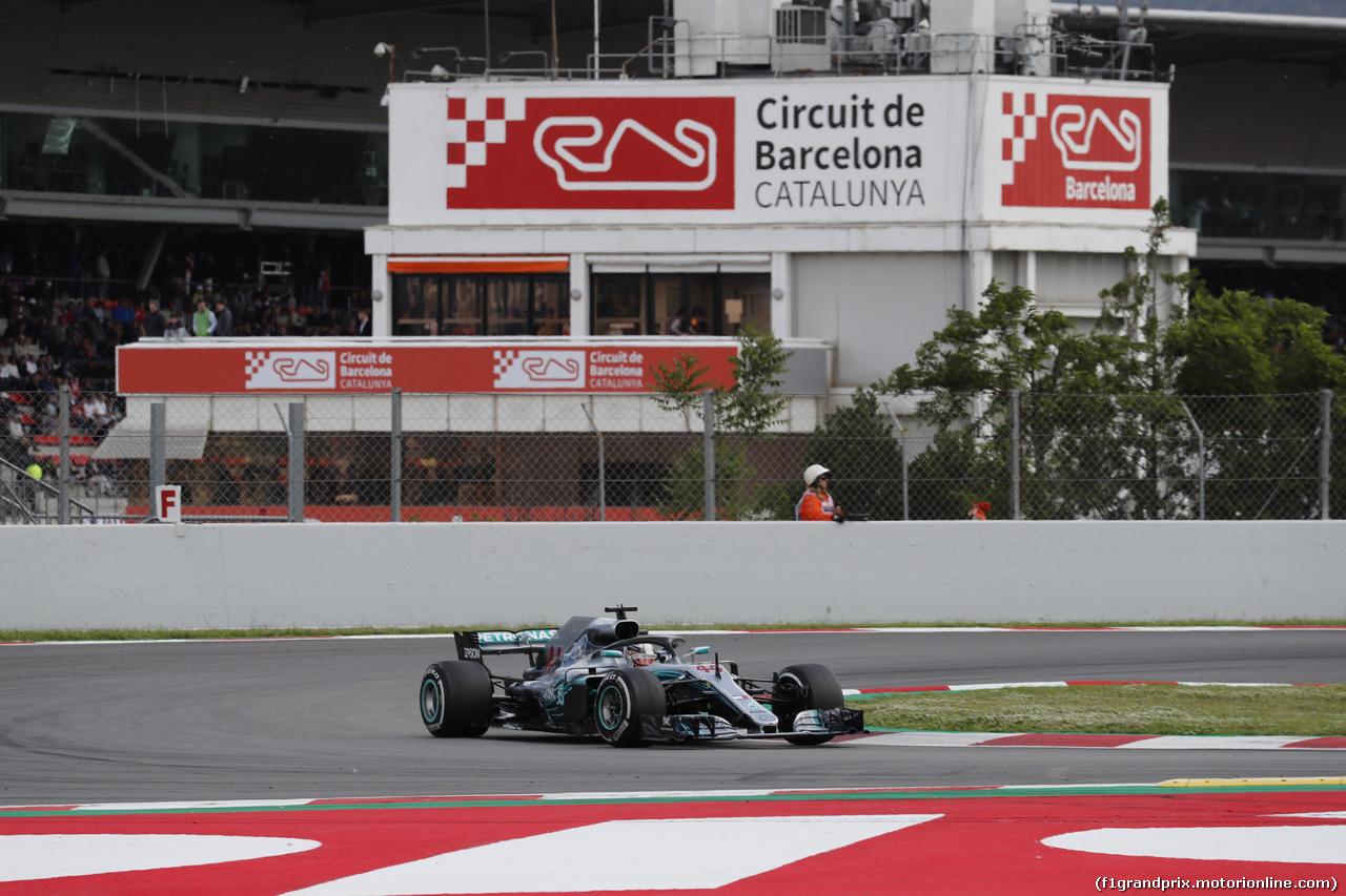 GP SPAGNA, 13.05.2018 - Gara, Lewis Hamilton (GBR) Mercedes AMG F1 W09