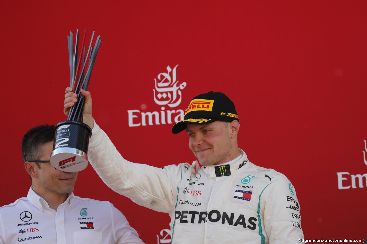 GP SPAGNA, 13.05.2018 - Gara, 2nd place Valtteri Bottas (FIN) Mercedes AMG F1 W09
