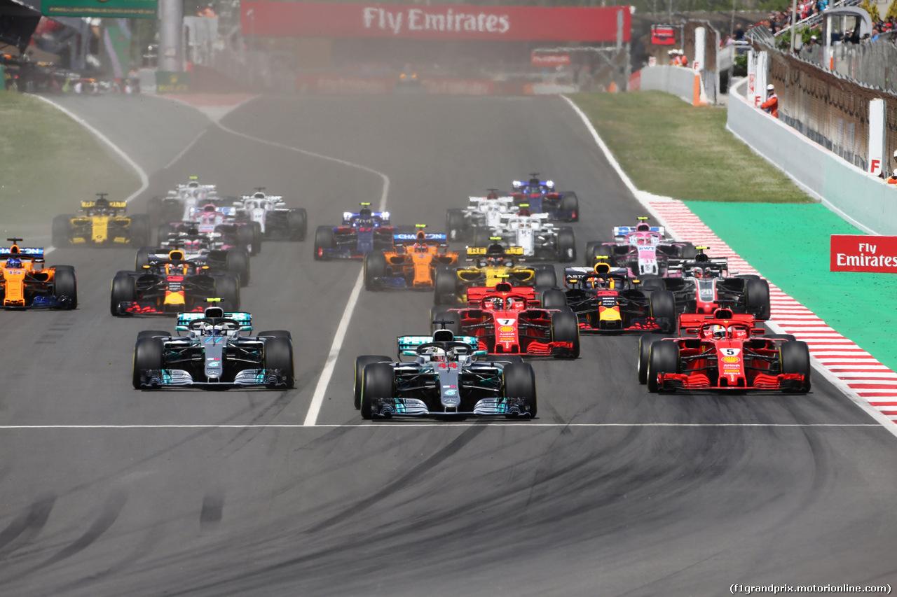 GP SPAGNA, 13.05.2018 - Gara, Start of the race
