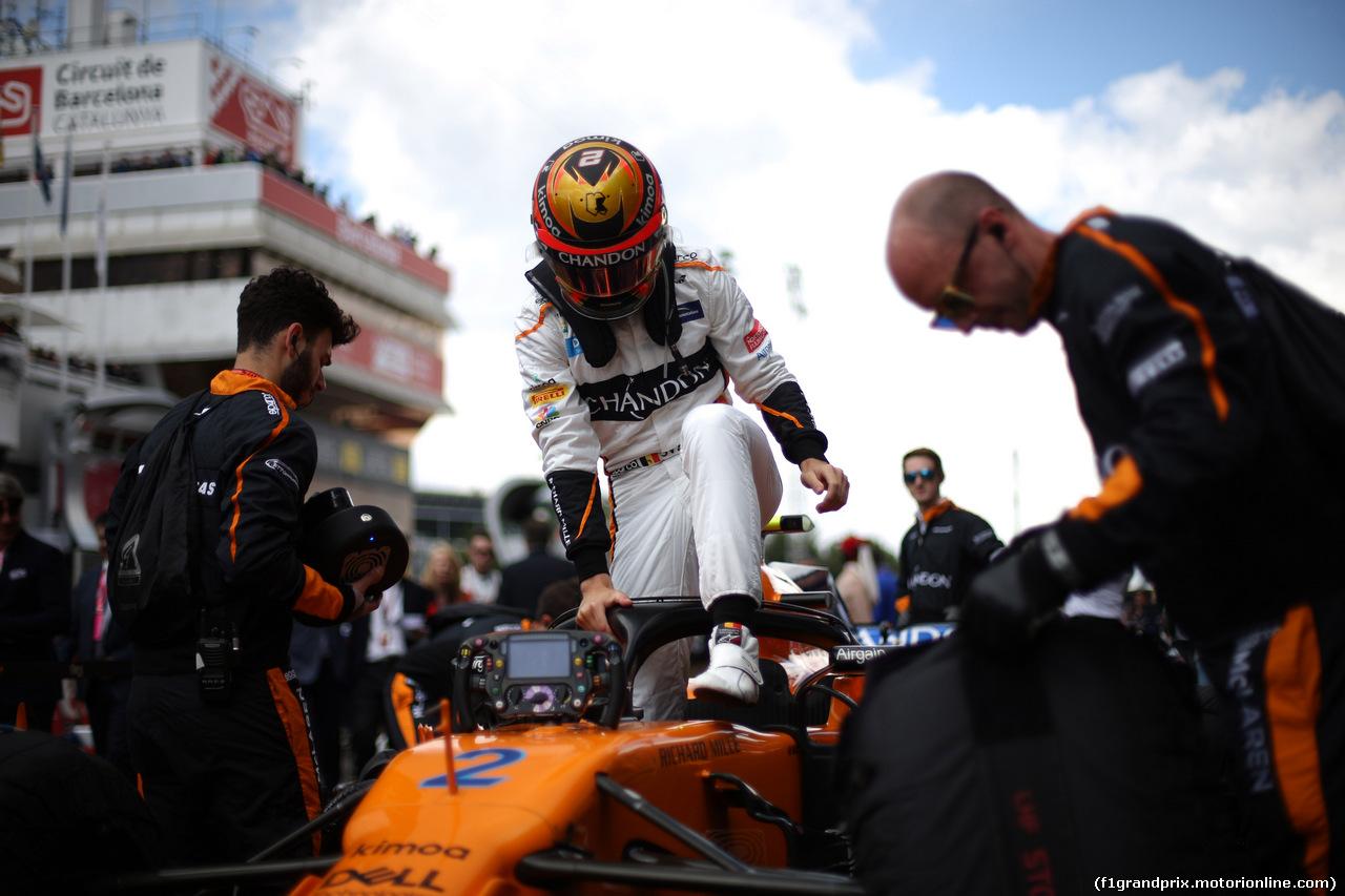 GP SPAGNA, 13.05.2018 - Gara, Stoffel Vandoorne (BEL) McLaren MCL33
