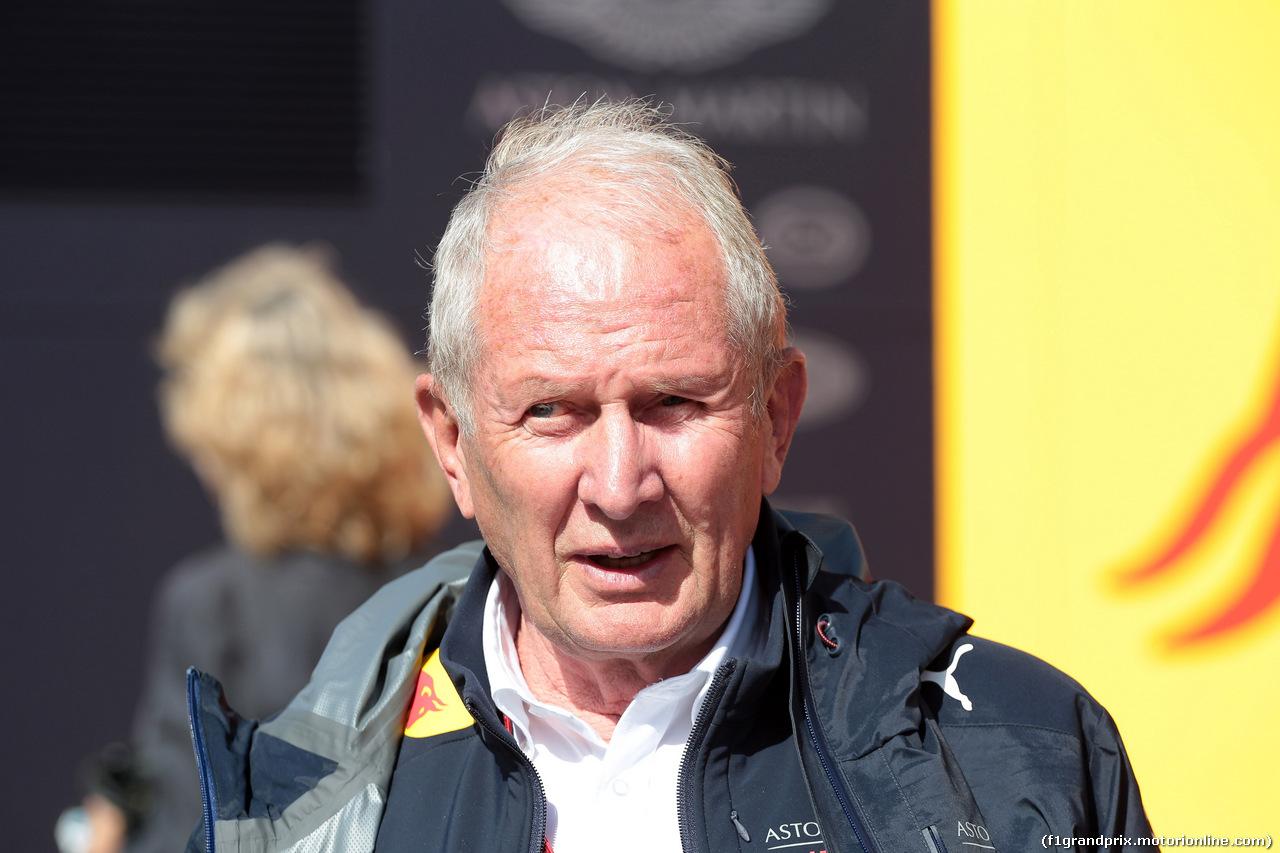 GP SPAGNA, 13.05.2018 - Gara, Helmut Marko (AUT), Red Bull Racing, Red Bull Advisor