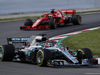 GP SPAGNA, 13.05.2018 - Gara, Lewis Hamilton (GBR) Mercedes AMG F1 W09 e Sebastian Vettel (GER) Ferrari SF71H